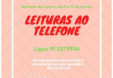 Convite leituras ao telefone